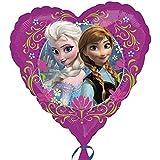 Disney Eiskönigin Frozen - Party Folien Herz Ballon 43cm