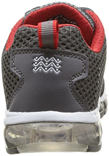 Geox J ANDROID A Jungen Sneakers Grau (GREY/REDC0051)