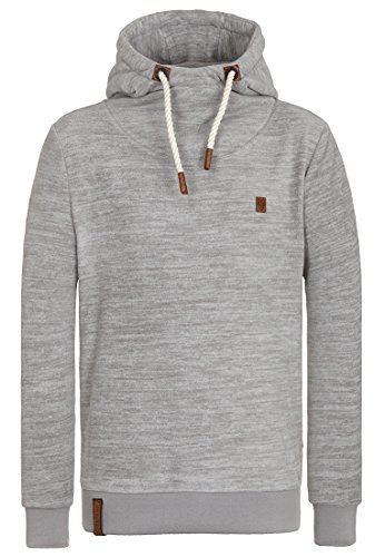 Naketano Male Hoody Discopimmel V Grey Melange