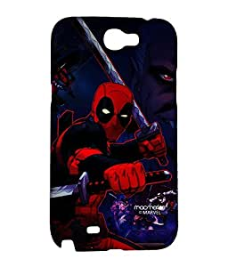 Deadpool Attack - Case For Samsung Note 2