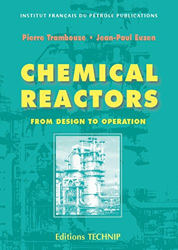 CHEMICAL REACTORS par Pierre Trambouze
