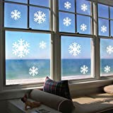 Decorie Lovely Romantic Frozen Snow Flakes Wall Sticker for Home Decor