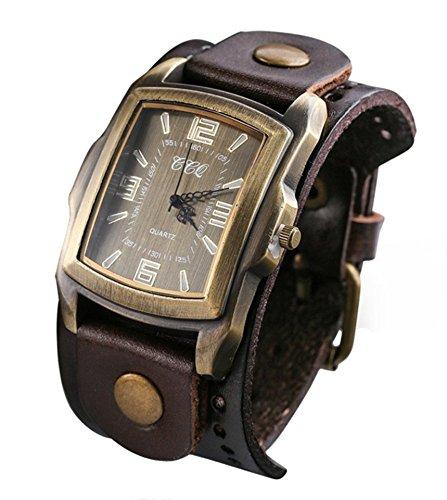 Armbanduhr Küstencalma XL für Herren in vielen Farben - Präzessionsuhrwerk