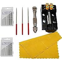 cnmade precisión Pin Vise modelo mano manivela Drill Press Micro Twist brocas de perforación agujero centro Punch Rotary Herramientas
