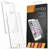 iPhone 6 / 6S Pellicola Protettiva in Vetro Temperato (Pacco doppio) da Centopi Hai appena comprato un nuovo Apple iPhone 6 / 6S; l'ultima cosa che vuoi è che lo schermo si graffi, macchi, sporchi o rompa... Quind...