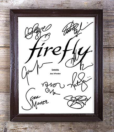 Firefly TV Show Cast Autographed Signed 8x10 Photo Reprint #67 Special Unique Gifts Ideas for Him Her Best Friends Birthday Christmas Xmas Valentines Anniversary Fathers Mothers Day