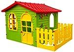 Spielhaus Kinderspielhaus mit Terrass...