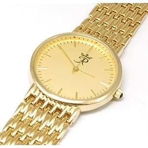 Reflex Gold Tone Bracelet Strap Quartz Gents Dress Watch RB23G