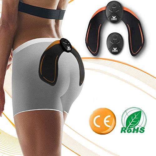 Elettrostimolatore Glutei Per Fitness Donna Uomo - Massaggio Muscolare - Elettrostimolatore Muscolare per Rassodare e Modellare - Massaggiatore x Allenamento a Casa - Attrezzo per Glutei per Donne