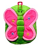 #9: Funtastik Green Butterfly Design Kids Play School Bag