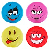 Taschenwärmer 4er Set Handwärmer - Smileys in 4 trendigen Farben