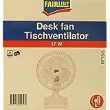Fair Line–Ventilador de mesa DF 1515Color Blanco–Ventilador de mesa