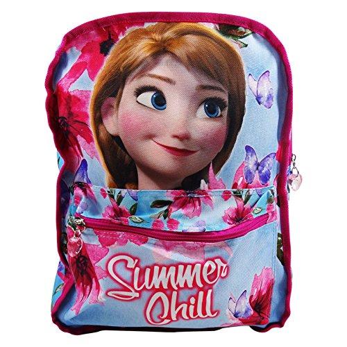 Disney frozen summer chill- zaino double face per bambini - 40cm - colore: multicolor