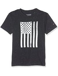Tommy Hilfiger Ame Flag Cn Tee S/S, T-Shirt Garçon