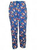 Disney, pantaloni pigiama con nano Brontolo, da uomo Blue Small
