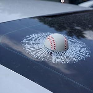 WINOMO Auto 3D Kugeln Fenster Aufkleber Auto Autoaufkleber selbst klebende...