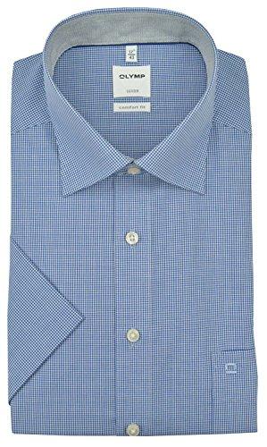OLYMP -  Camicia classiche  - Classico  - Uomo Blu scuro