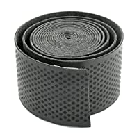 Sport Fish Rod Tennis Racket Sweat Absorption Handle Grip Wrap Tape(Black) Useful and Practical
