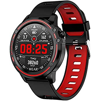 SODIAL L8 Reloj Inteligente de Hombres Ip68 Reloj Inteligente de ...