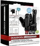 Speedlink Quaddock 4-In-1 Ladestation für Playstation 3/PS3 (vier Ports für zwei Gamepad/Controller und Bewegungscontroller)
