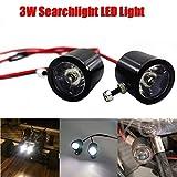 Lukame Auto-Modell beleuchtet Scheinwerfer 3W geführten Projektor für 1/10 Traxxas Trx4 Scx10 D90 Rc-LKW-Verfolger