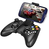 #1: Wireless Bluetooth Mobile Gamepad Controller/ Mouse Joystick For PC, Android, iOs & PS3