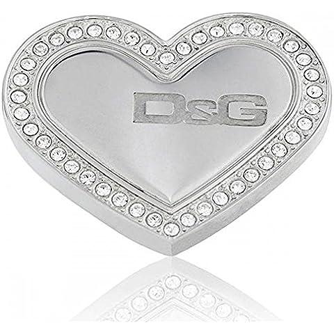 Dolce&Gabbana Dolce & Gabbana - DJ0545 - Pulsera de mujer de acero inoxidable con circonitas