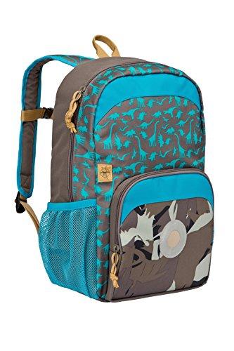 Lässig Mini Backpack Big Kinderrucksack Kindergartentasche, Dino slate