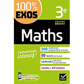Maths 3e: exercices résolus