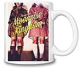 Moonrise kingdom graphic movie poster Mug Cup