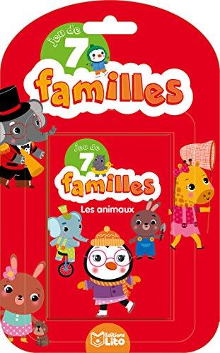Jeux de 7 familles: Les animaux - Dès 5 ans