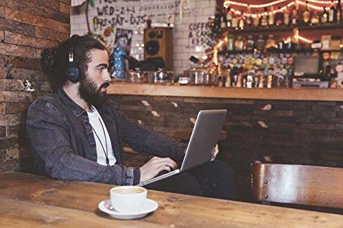Audio-Technica ATH-SR5BTBK Kabelloser, Ohraufliegender High-Resolution Kopfhörer schwarz - 7