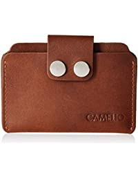 CAMELIO Tan Card Case (CAM-WL-0018)