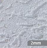 RyFo Colors Reibeputz 2mm MUSTER 8x5cm weiß - weitere Strukturen und Körnungen wählbar, Musterstück, Fertigputz für innen und außen, Oberputz, Edelputz, witterungsbeständig, zertifiziert