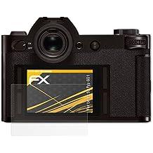 Leica SL (Typ 601) Protezione Pellicola dello Schermo - 3 x atFoliX FX-Antireflex anti-riflesso Pellicola Proteggi Pellicola Protettiva