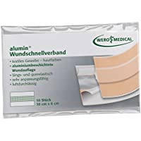 alumin-Wundschnellverband 10x6cm (10Stk.Pkg.) preisvergleich bei billige-tabletten.eu