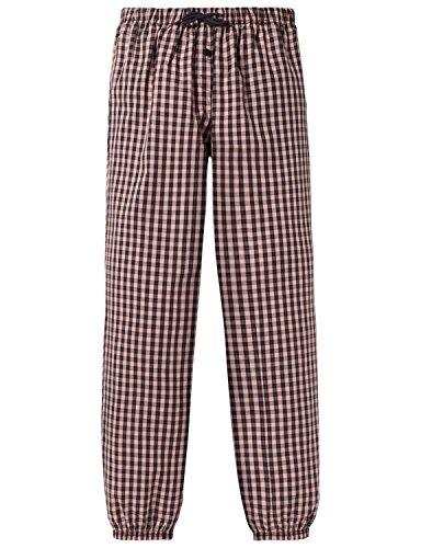 Schiesser Mädchen Schlafanzughose Mix & Relax Webpants, Rot (Rosenholz 527), 164 (Herstellergröße: M)