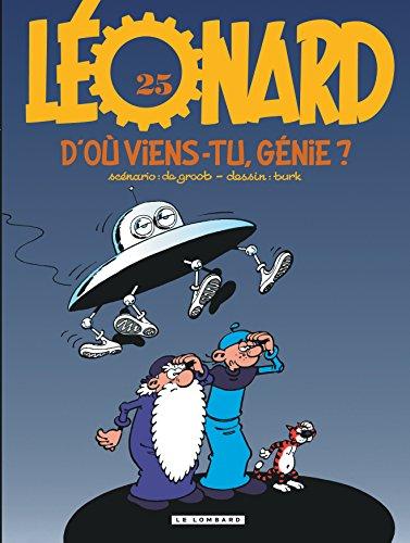 Léonard, numéro 25 : D'où viens-tu, génie ? par Bob de Groot