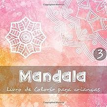 Mandala - Livro de colorir para crianças 3: 40 motivos bonitos para crianças e bebés colorirem I 3 diferentes níveis de dificuldade I As páginas apresentam impressão unilateral