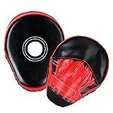 YTTX Handpratzen Trainerpratzen Kamfsport Boxen Pads Kickboxen Handschuhe Taekwondo Boxhandschuhe Pu