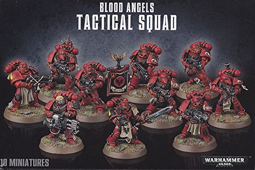 1 X Warhammer 40K Blood Angels Tactical Squad (2014) by Games Workshop