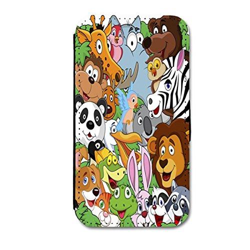 Book Style Flip Handy Tasche Case Schutz Hülle Schale Motiv Etui für Apple iPhone 6 - 4,7 Zoll - A6 Design7 Design 10