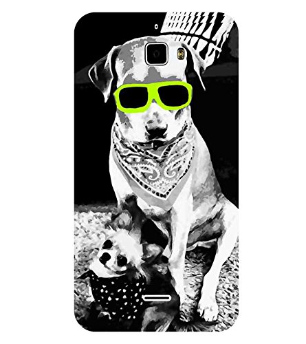 "Ulta Anda Dog Neon Love Printed Designer Mobile Back Cover For ""Coolpad F1"" (3D, Matte Finish, Premium Quality, Protective Snap On Slim Hard Phone Case, Multi Color)"