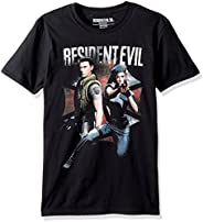 American Classics Resident Evil Chris and Jill Adult Short Sleeve T-Shirt