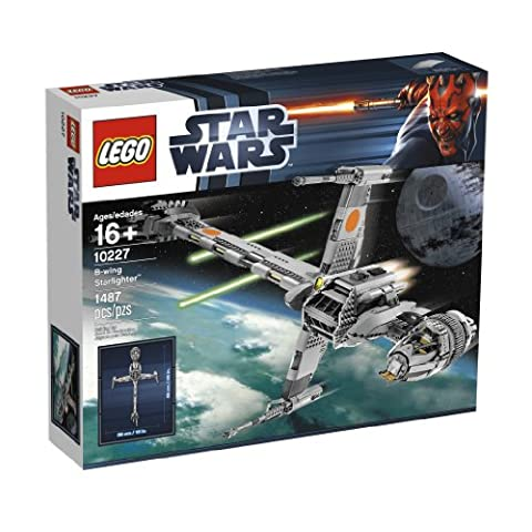 Star Wars B-wing - LEGO Star Wars 10227 B-Wing Starfighter
