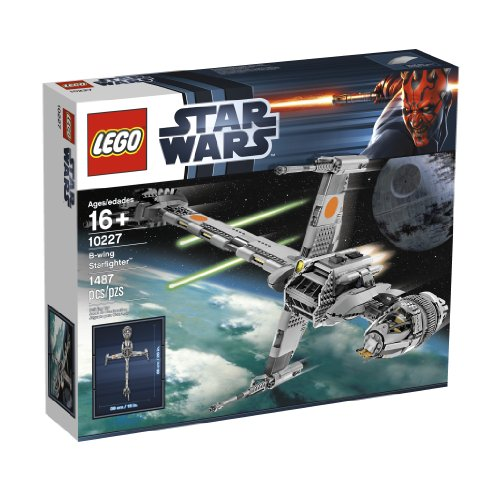 LEGO 10227 Star Wars UCS B-Wing Fighter by (Wing Fighter Wars Star)