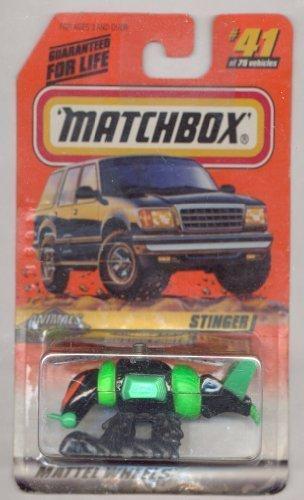 Matchbox 1998-41/75 Series 6 Animals GREEN/BLACK Stinger 1:64 Scale by Matchbox (Green Stinger)