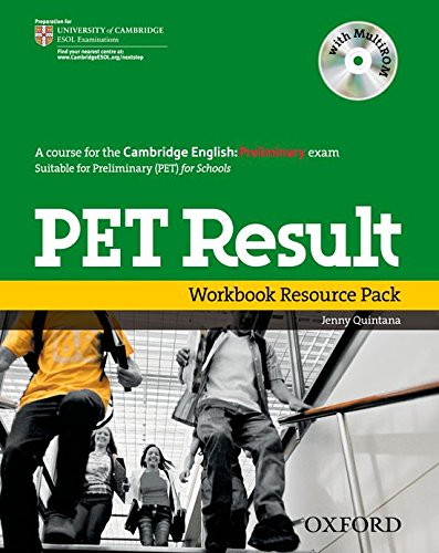 PET Result:: Preliminary English Test Result: Printed Workbook Resource Pack Without Key (Preliminary English Test (Pet) Result) - 9780194817219 por Jenny Quintana