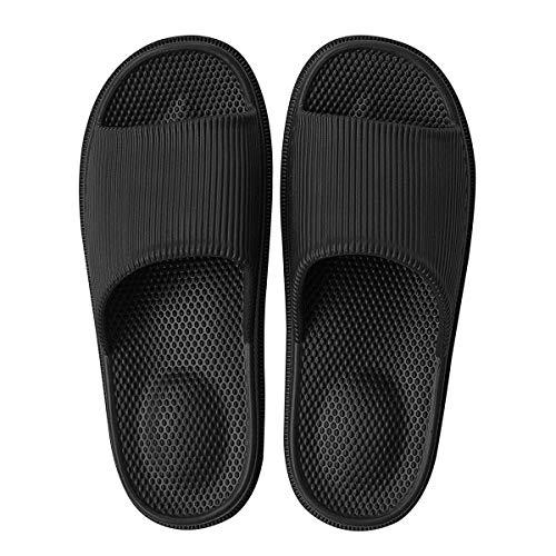 Decai Mujeres Zapatos de Piscina Chanclas de Playa para Hombre Zapatillas de Estar por Casa de Mujer...