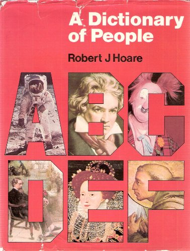 A dictionary of people